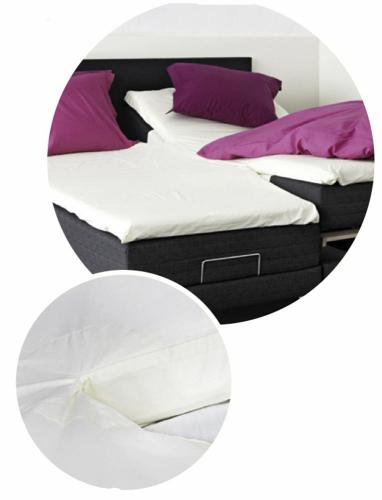 Percale U80 splitlagen 180