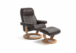Stressless® Crown lænestol med classic stel i medium