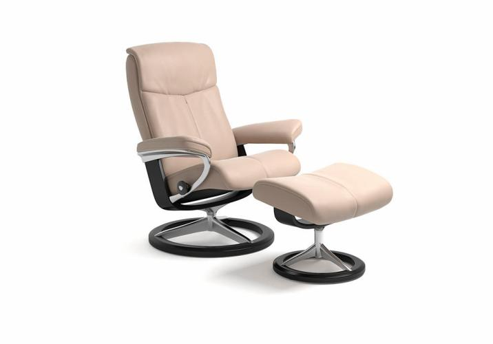 Stressless® Peace lænestol med signature stel i medium