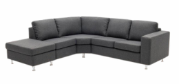 Symfoni antracitfarvet sofa
