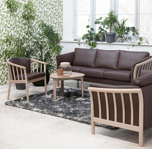 Tunis CL 600 3 og 2 pers sofa
