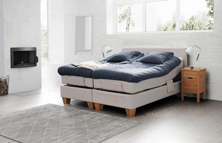 Jensen Ambassadør Dream elevation med softline 3 120x200