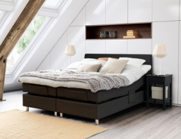 Jensen Diplomat Dream elevation med Softline 1 120x200