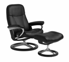 Stressless® Garda lænestol med signaturestel i medium