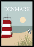 Denmark tower plakat