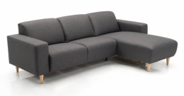 Amalfi sofa med chaiselong