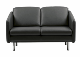 Stressless® Eve 2 pers sofa sort Batick læder