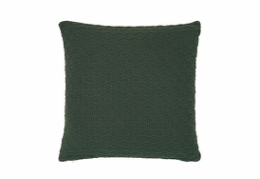 Södahl Deco Knit pude Deep Green