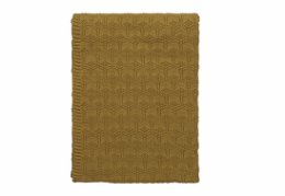 Södahl deco knit plaid golden