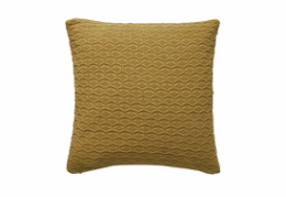 Södahl Deco Knit pude golden