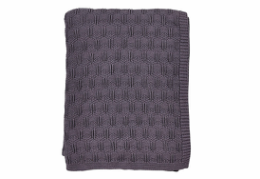 Södahl Deco Knit plaid lavender