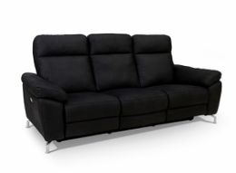 Dallas 3 pers. sofa sort