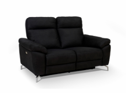 Dallas 2 pers. sofa sort