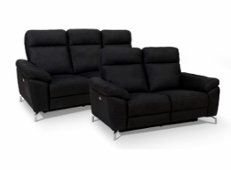 Dallas 3+2 pers. sofa sort