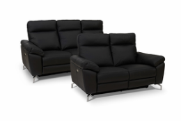 Dallas 3+2 pers. sofa læder