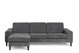 Visby sofa med chaiselong