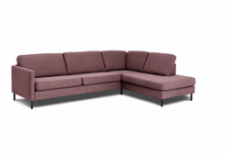 Visby sofa med open end