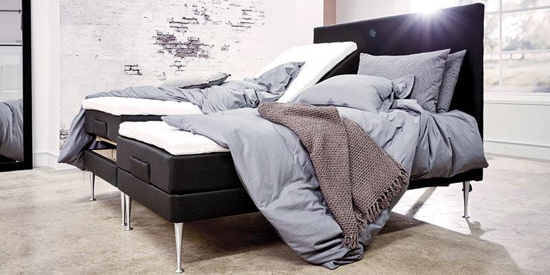 Restzone seng med elevation