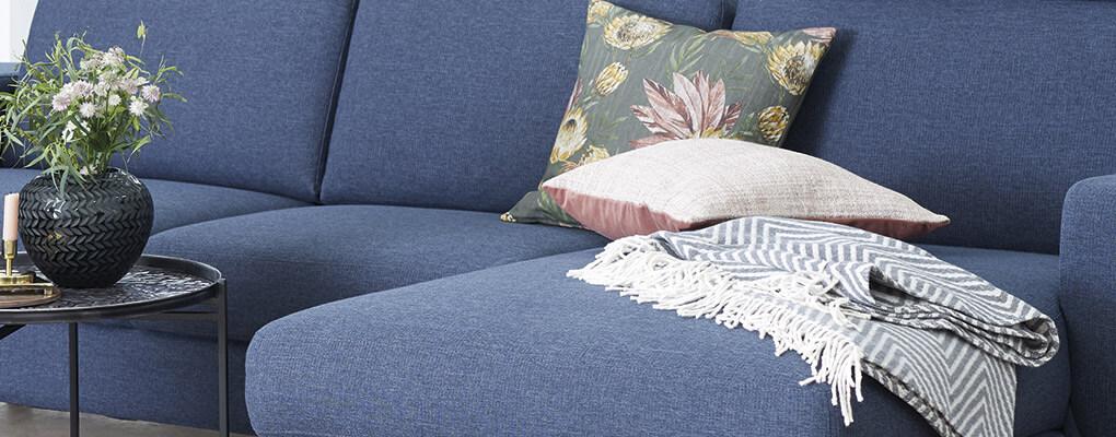 Tekstil på møbler er in