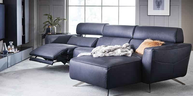 Natuzzi co13 med recliner