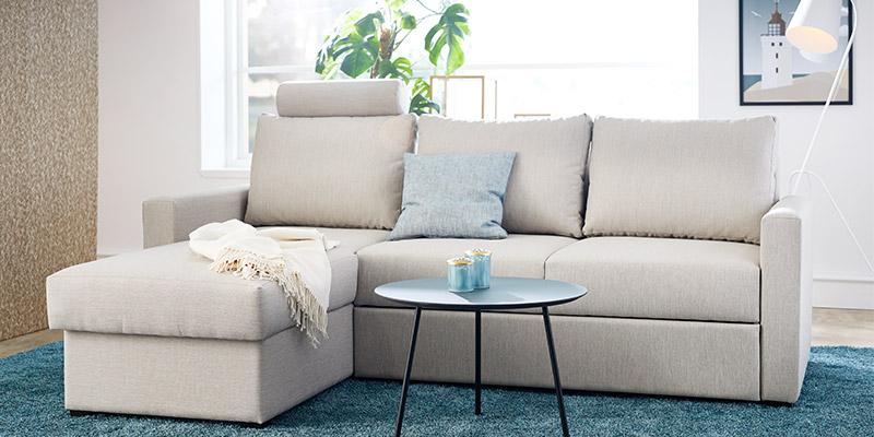 Sofa med sovefunktion