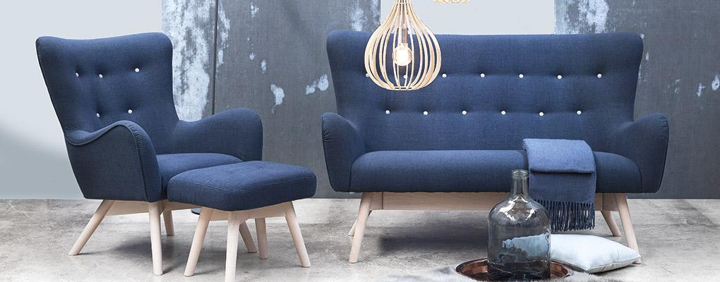 Tango lænestol og sofa