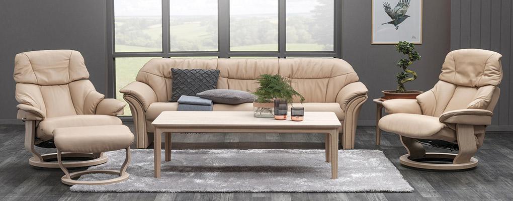 Chicago lænestol med sofa