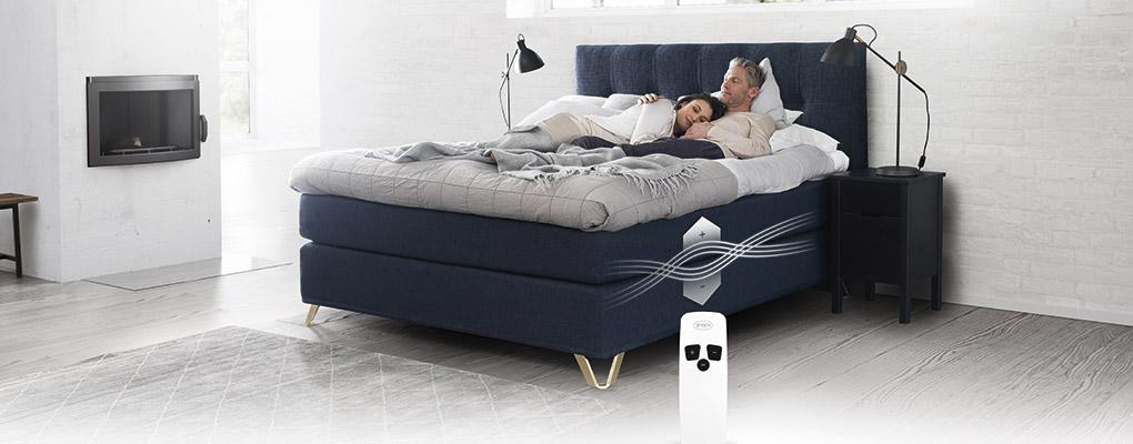 Jensen seng med fjernbetjening