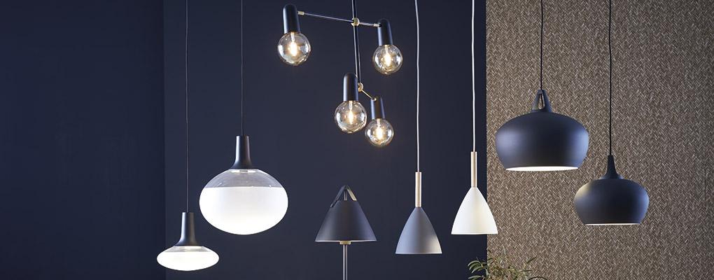 Stort udvalg af spisebordslamper hos Møblér