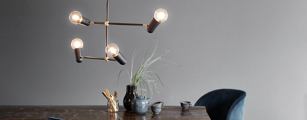 Manhatten spisebordslampe - et anderledes men unikt design