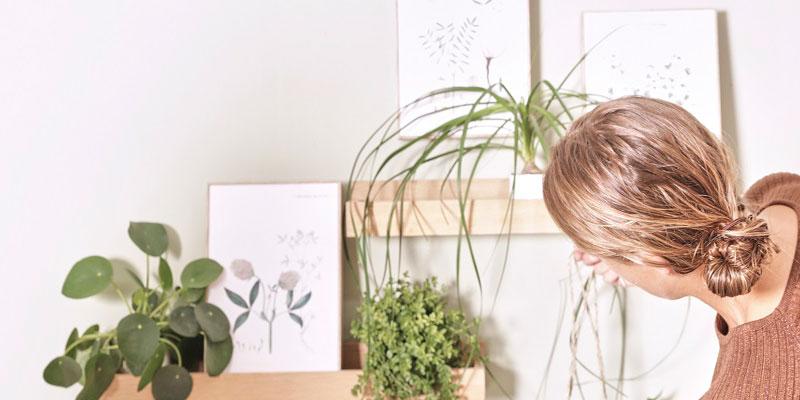 Inddrag en masse grønne planter i din indretning